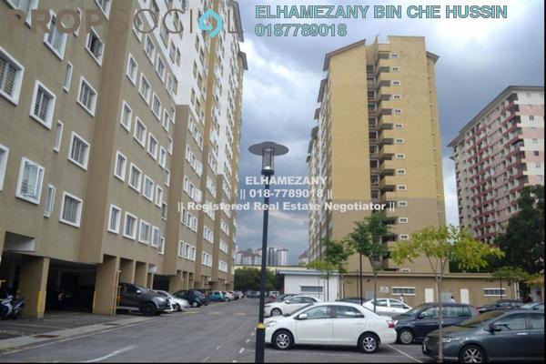 For Sale Apartment at Putra Suria Residence, Bandar Sri Permaisuri Leasehold Semi Furnished 3R/2B 345k