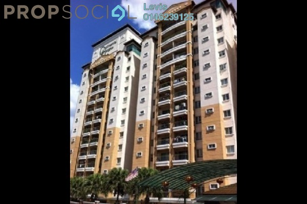For Rent Condominium at Continental Heights, Kuchai Lama Freehold Fully Furnished 3R/2B 2k