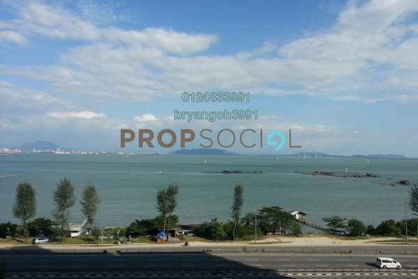 For Rent Apartment at Mutiara Heights, Jelutong Leasehold Semi Furnished 3R/2B 1k