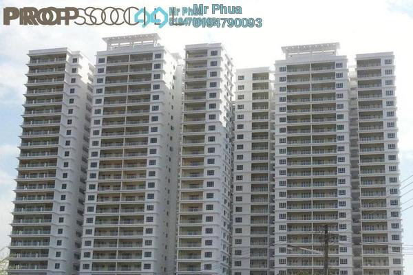 For Rent Condominium at 1-Sky, Bayan Baru Freehold Fully Furnished 3R/2B 2.1k