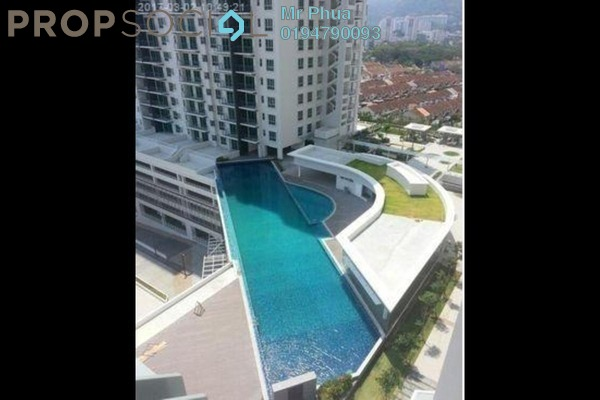 For Rent Condominium at Elit Heights, Bayan Baru Freehold Fully Furnished 3R/2B 2.5k