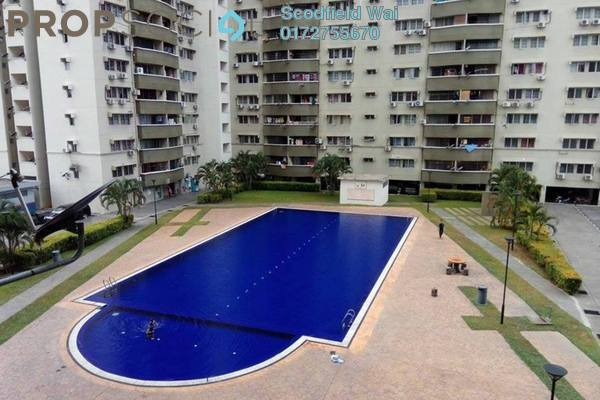 For Rent Condominium at Sentul Utama Condominium, Sentul Leasehold Unfurnished 3R/2B 1.3k