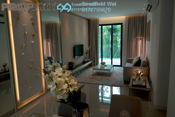 For Sale Serviced Residence at United Point Residence, Segambut Freehold Unfurnished 3R/2B 450k