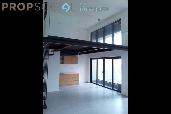 For Rent Duplex at Empire City, Damansara Perdana Leasehold Semi Furnished 1R/2B 1.5k