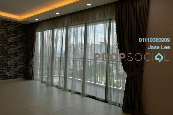 For Rent Condominium at Zefer Hill Residence, Bandar Puchong Jaya Freehold Semi Furnished 4R/3B 2.3k