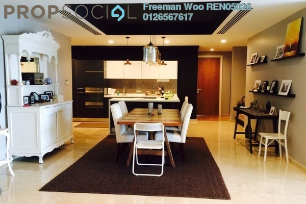 For Sale Condominium at 28 Mont Kiara, Mont Kiara Freehold Fully Furnished 3R/4B 2.05m