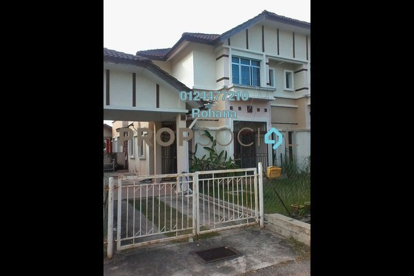 For Rent Semi-Detached at Bandar Puncak Alam, Kuala Selangor Leasehold Fully Furnished 4R/3B 1k