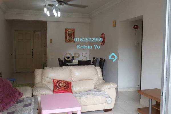 For Rent Condominium at Paradesa Rustica, Bandar Sri Damansara Freehold Semi Furnished 3R/2B 1.35k