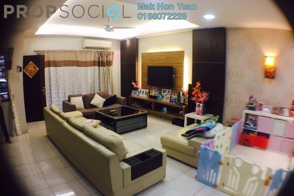 For Sale Terrace at Mutiara Puchong, Puchong Leasehold Fully Furnished 4R/3B 899k