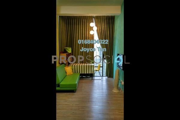 For Sale SoHo/Studio at Empire Damansara, Damansara Perdana Leasehold Fully Furnished 1R/1B 260k