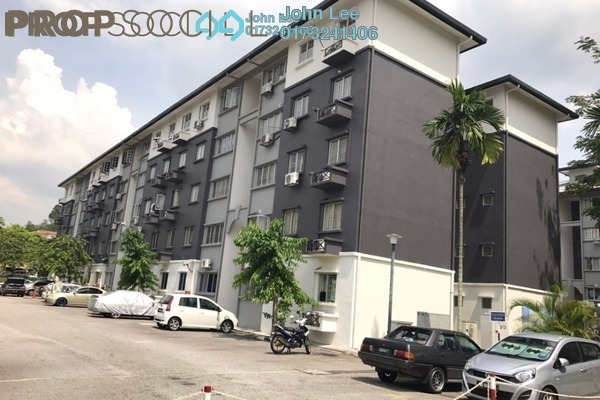 For Sale Apartment at Sri Cempaka Apartment, Bandar Puteri Puchong Freehold Unfurnished 3R/2B 290k