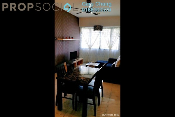 For Rent Serviced Residence at Main Place Residence, UEP Subang Jaya Freehold Fully Furnished 2R/2B 1.8k