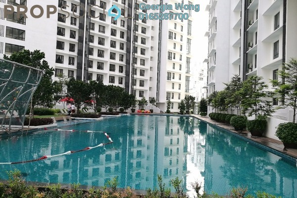 For Rent Condominium at Solstice @ Pan'gaea, Cyberjaya Freehold Semi Furnished 1R/1B 1k