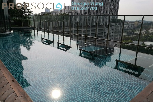 For Sale Condominium at Solstice @ Pan'gaea, Cyberjaya Freehold Semi Furnished 1R/1B 310k