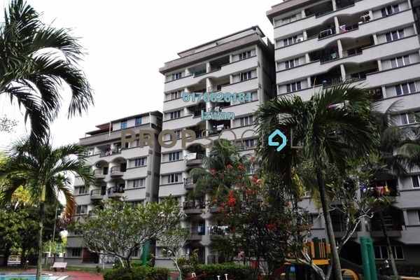 For Rent Condominium at Sri Jelatek, Wangsa Maju Leasehold Semi Furnished 3R/2B 1.45k