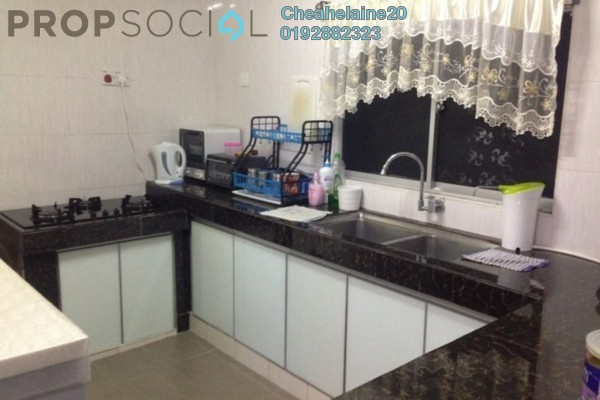 For Sale Terrace at Taman Desa Jaya, Kepong Leasehold Semi Furnished 3R/1B 575k