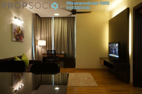 For Rent Condominium at Dua Sentral, Brickfields Freehold Fully Furnished 2R/2B 2.7k