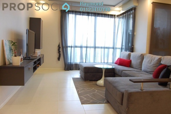 For Rent Condominium at Cyber Heights Villa, Cyberjaya Freehold Fully Furnished 3R/2B 1.7k