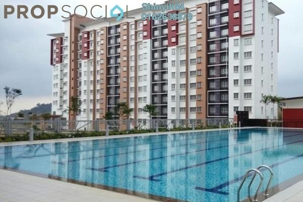 For Rent Condominium at Seri Jati Apartment, Setia Alam Freehold Semi Furnished 3R/2B 900translationmissing:en.pricing.unit