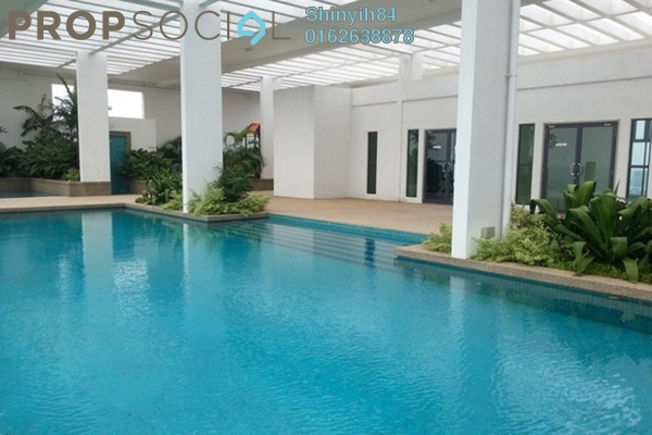 For Rent Condominium at Subang SoHo, Subang Jaya Freehold Fully Furnished 0R/1B 1.7k