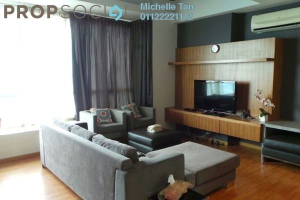 For Rent Condominium at Park View, KLCC Freehold Fully Furnished 2R/2B 4k