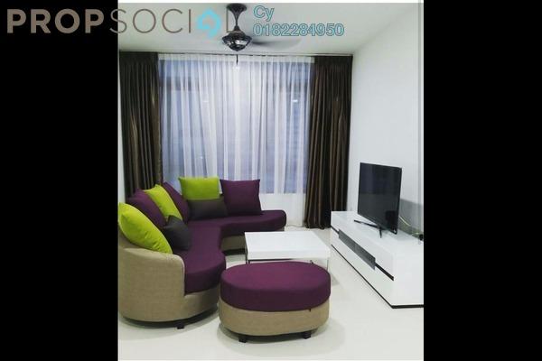 For Rent Condominium at AraGreens Residences, Ara Damansara Freehold Fully Furnished 4R/3B 4.8k