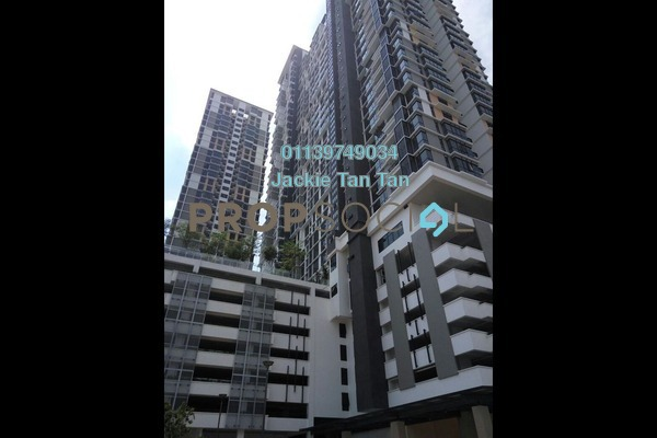 For Rent Condominium at Shamelin Star Serviced Residences, Cheras Leasehold Semi Furnished 2R/2B 1.7k