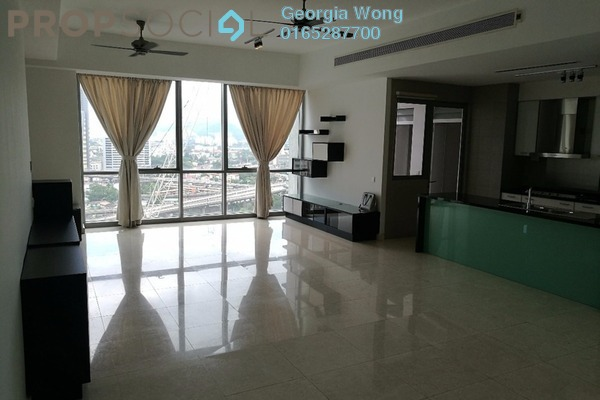 For Rent Condominium at The Meritz, KLCC Freehold Semi Furnished 2R/2B 4k