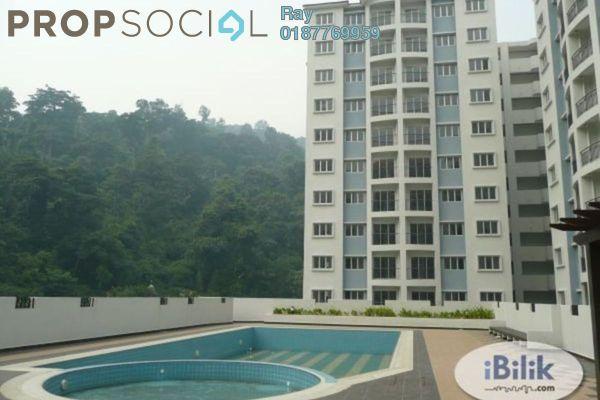 For Rent Condominium at Nusa Mewah, Cheras Freehold Semi Furnished 3R/2B 1.2k