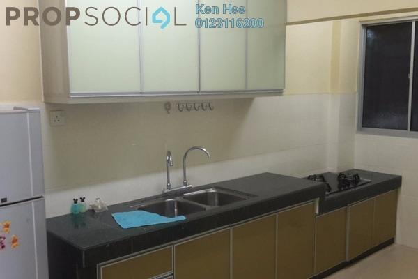 For Rent Condominium at Brem Park, Kuchai Lama Leasehold Semi Furnished 3R/2B 1.29k