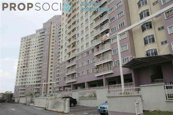 For Rent Condominium at Juta Mines, Seri Kembangan Leasehold Semi Furnished 3R/2B 1.1k