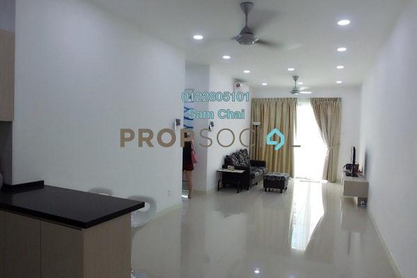 For Rent Condominium at Scenaria, Segambut Freehold Fully Furnished 3R/2B 2.25k