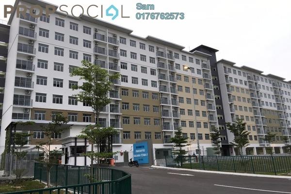 For Rent Apartment at Mutiara Heights, Kajang Freehold Semi Furnished 3R/2B 800translationmissing:en.pricing.unit