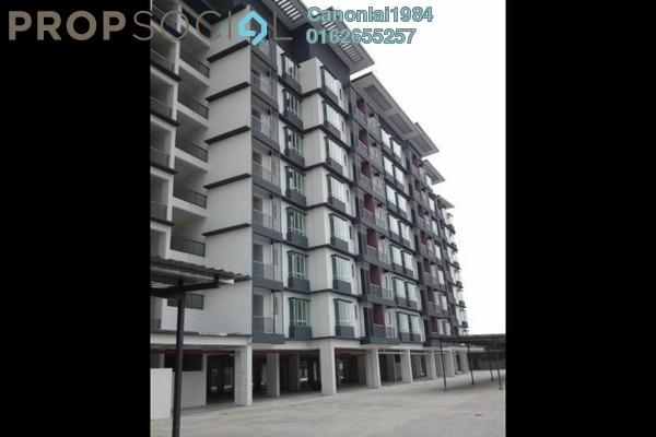 For Rent Condominium at Mahkota Residence, Bandar Mahkota Cheras Freehold Semi Furnished 3R/2B 1.1k