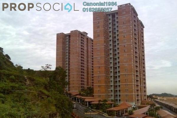 For Rent Condominium at Greenview Residence, Bandar Sungai Long Freehold Semi Furnished 3R/2B 1.5k