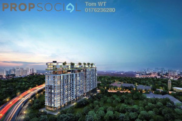 For Sale SoHo/Studio at Rencana Royale, TTDI Freehold Unfurnished 0R/1B 282k