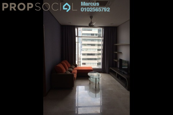 For Rent SoHo/Studio at Soho Suites, KLCC Freehold Fully Furnished 2R/1B 3.5k