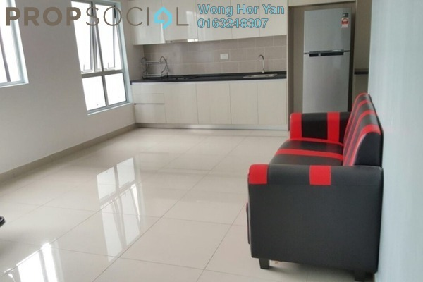 For Rent Serviced Residence at The Wharf, Puchong Leasehold Semi Furnished 1R/1B 900translationmissing:en.pricing.unit