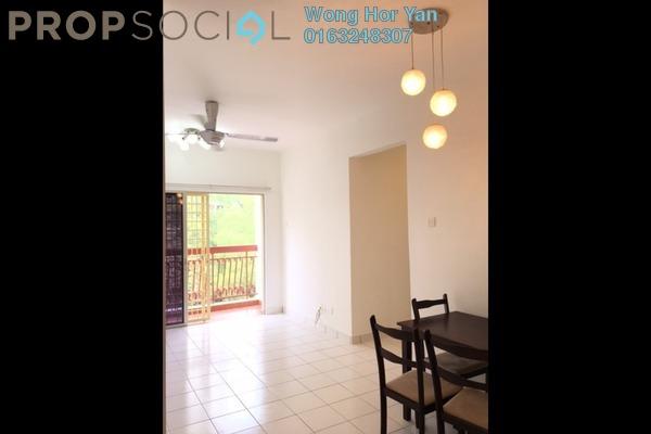 For Rent Apartment at D'Cahaya Apartment, Bandar Puchong Jaya Freehold Semi Furnished 3R/2B 1.1k