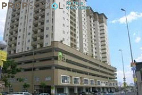 For Sale Apartment at Taman Mutiara Vista, Jelutong Freehold Semi Furnished 3R/2B 315k