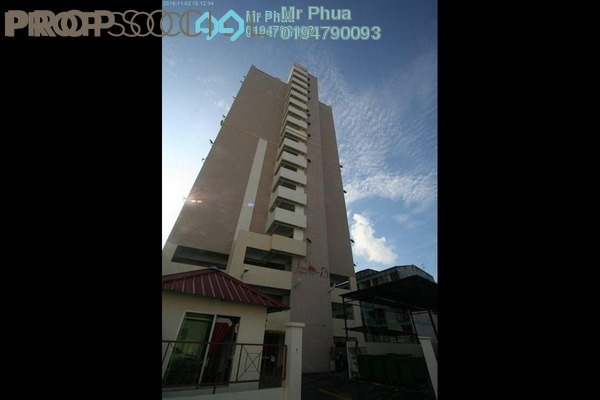 For Sale Apartment at Casa Impian, Jelutong Freehold Fully Furnished 3R/2B 480k