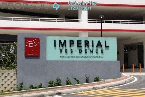 For Rent Condominium at Imperial Residence, Cheras South Freehold Semi Furnished 3R/2B 1.4k