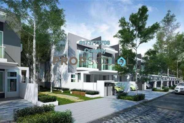 For Sale Terrace at Senja, Seri Kembangan Leasehold Semi Furnished 4R/4B 1.65m