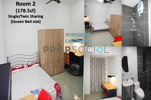 For Rent Condominium at Senza Residence, Bandar Sunway Leasehold Fully Furnished 1R/1B 1.3k