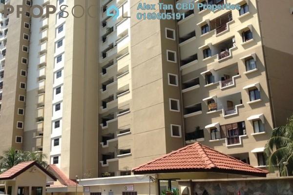 For Sale Condominium at Vista Komanwel, Bukit Jalil Freehold Semi Furnished 4R/3B 630k