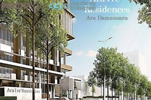 For Sale Serviced Residence at AraTre' Residences, Ara Damansara Freehold Semi Furnished 1R/1B 438k
