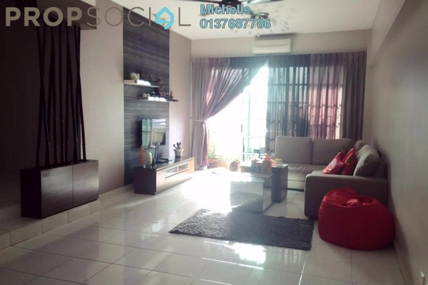For Sale Condominium at Sterling, Kelana Jaya Leasehold Fully Furnished 4R/2B 750k