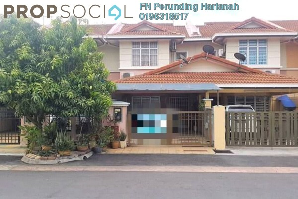 For Sale Terrace at Section 36, Shah Alam Freehold Unfurnished 4R/3B 460k