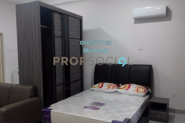 For Rent Apartment at Palazio, Tebrau Freehold Fully Furnished 0R/1B 1.2k
