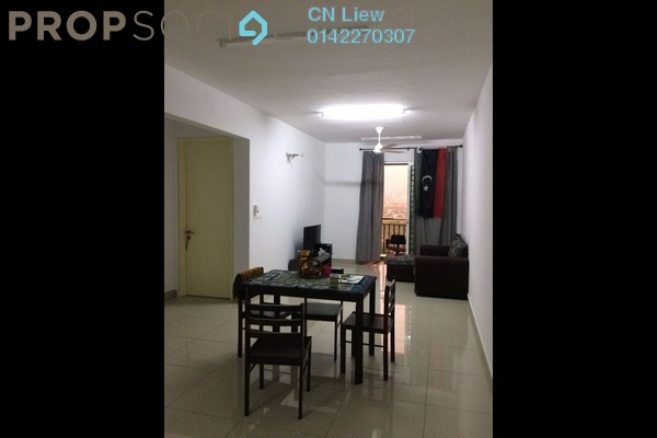 For Rent Condominium at De Centrum, Kajang Freehold Semi Furnished 3R/2B 1.75k